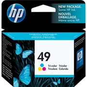 HP 49 Tricolor Ink Cartridge (51649A)