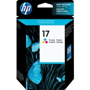 HP 17 Tri-Colour Original Ink Cartridge (C6625A)