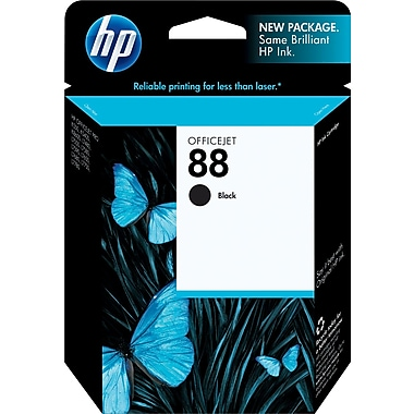 HP 88 Black Ink Cartridge (C9385AN)