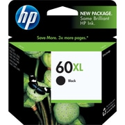 HP 60XL Black Ink Cartridge (CC641WN), High Yield