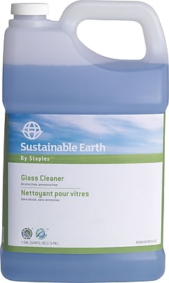 Sustainable Earth by Staples® Glass Cleaner Refill, 1 Gallon (SEB6101RTU-CC)