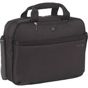 "SOLO® Laptop Clamshell, Black Nylon, 15.6"""