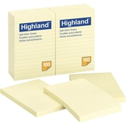 3M™ 6609YW Lined Highland Note, Ruled