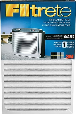 3M™ OAC250RF Air Cleaning Filter, White