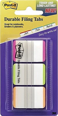 Post-it® Durable Tabs, 1