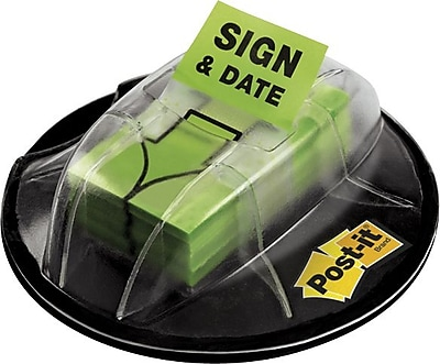 Post-it® 'Sign and Date' Message Flags, 1