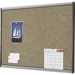 Quartet® Premium Coloured Cork Bulletin Boards, Aluminum Frame, 11 x 14