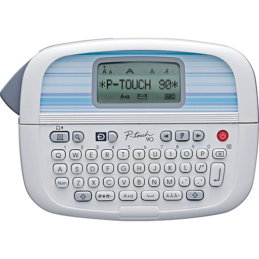 Brother P Touch Pt 90 Pt 1090 And Pt 1290 Label Makers: Shop Staples For Brother P-Touch PT-90 Personal Label Maker