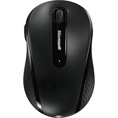 Microsoft Wireless Mobile Mouse 4000, BlueTrack USB Wireless Mouse, Black (D5D-00001)