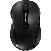 Microsoft Wireless Mobile Mouse 4000, BlueTrack USB Wireless Mouse, Black (D5D-00001)