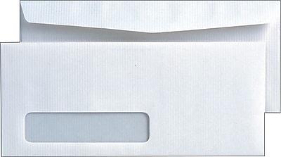 Quality Park™ Park Ridge™ #10, Left Window Embossed Executive Gummed Envelopes, 500/Box