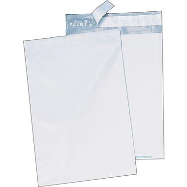 Quality Park - Enveloppes blanches en poly 9 po x 12 po, bte/100 - Redi-Strip