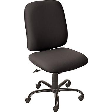 Balt Titan Mid-Back Fabric Task Chair, Armless, Black