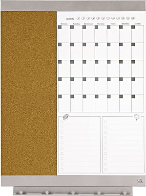 Quartet® Envi™ Calendar Combination Board, 23