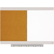 "Quartet® Envi™ Combination Board, 23"" x 17"", Magnetic Dry-Erase/Cork, Aluminum Frame (79241)"