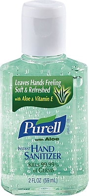 Purell® Instant Hand Sanitizer With Aloe, 2 oz.