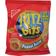 Ritz Bits® Peanut Butter Cracker Sandwiches, 1.5 oz. Bags, 60 Bags/Box