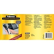 Fellowes 99722 Telephone Cleaning Wipes, 100/Pack