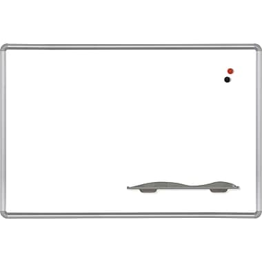 Best-Rite Magne-Rite Dry-Erase Board, Presidental Trim, 3' x 2'