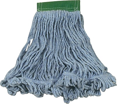 Rubbermaid® Super Stitch® Recycled Blend Mop, Large, Blue, 5
