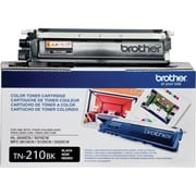 Brother Genuine TN210BK Black Original Laser Toner Cartridge