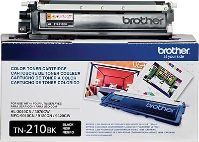 Brother Genuine TN210BK Black Original Laser Toner Cartridge
