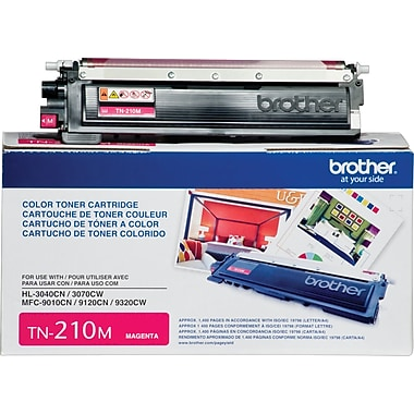 Brother – Cartouche de toner magenta TN210 (TN210M)