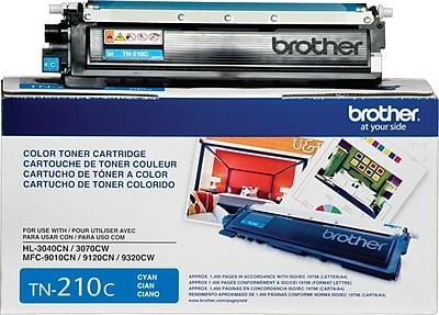 Brother Genuine TN210C Cyan Original Laser Toner Cartridge