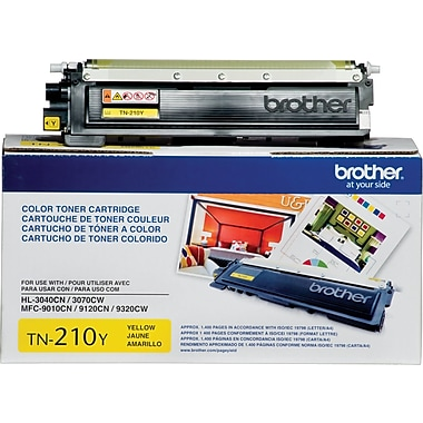Brother - Cartouche de toner jaune TN210