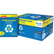 """Staples® 30% Recycled  Multipurpose Paper, 8 1/2"""" x 11"""", Case"""