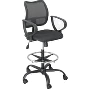 Safco Optional Chair Arm Kit, Black