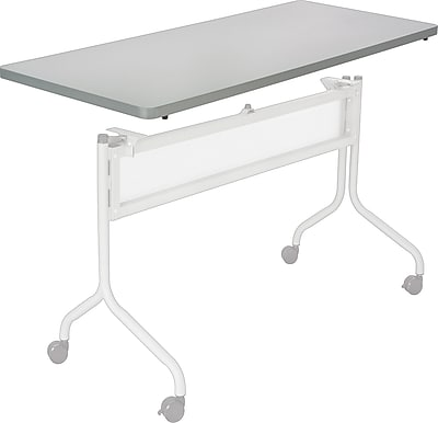 Safco® Impromptu™ 4' Mobile Training Table Top, Gray