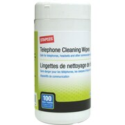 Staples Telephone Cleaning Wipes