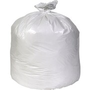 Brighton Professional Linear Low-Density Trash Bags, White, 33 Gallon, 150 Bags/Box (18185)