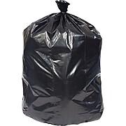 Coastwide Professional™ 55-60 Gal. Trash Bags, Low Density, 1.5 Mil, Black, 20 Bags/Roll, 5 Rolls (CW25531)