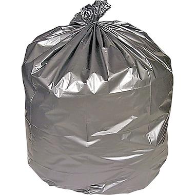 Brighton Professional Premium Linear Low-Density Trash Bags, Silver, 33gal, 100 Bags/Box (18186)