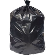 Brighton Professional™ Linear Low-Density Trash Bags, Black, 40-45 Gallon, 125 Bags/Box