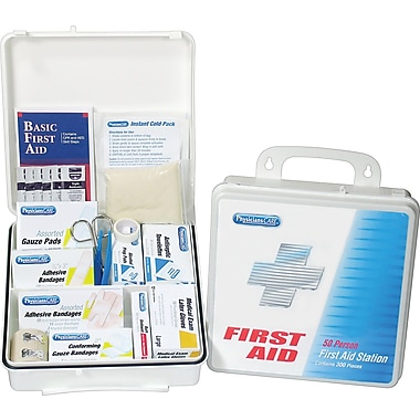 PhysiciansCare® Office First Aid Kit for 50 People, Contains 312 Pieces