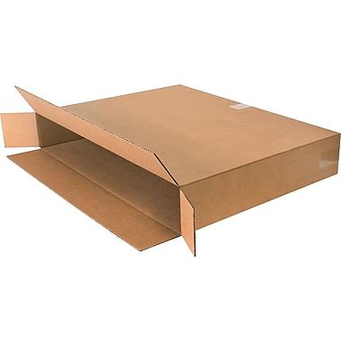 Boîtes en carton ondulé, 30 po x 5 po x 24 po, 10/lot