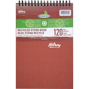 """Hilroy Enviro-Plus Recycled Steno Notebook, 6"""" x 9"""", 120 Pages"""