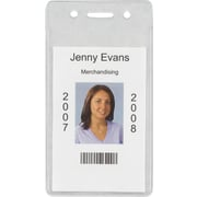 Staples 37868-CC ID Badge Holders, Vertical, 50/Pack