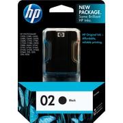 HP 02 Black Ink Cartridge (C8721WN)