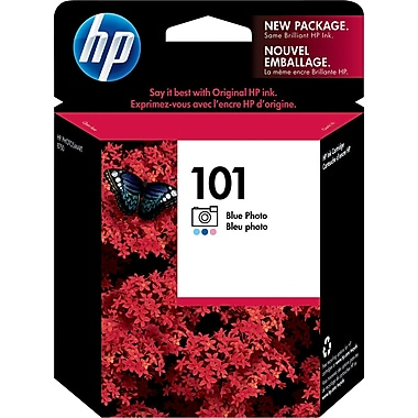 HP 101 Blue Photo Ink Cartridge (C9365AM)