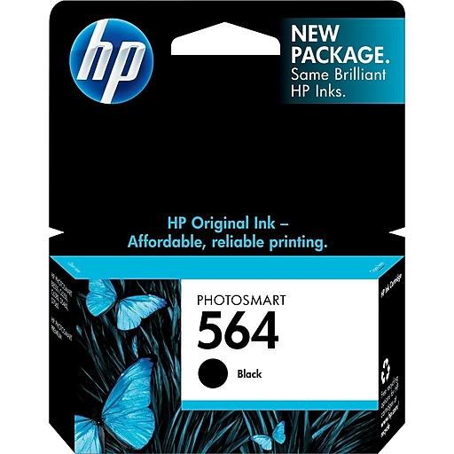 Hp 564 black ink cartridge cb316wn staples httpsstaples 3ps7is fandeluxe Images