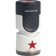 Accu-Stamp® Round Pre-Inked Stamps, Star