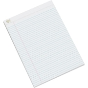 "Diversity Product Solutions by Staples® Notepads, Letter Sized (8.5"" x 11.75""), White, 12/pack"