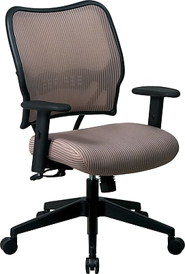 Office Star SPACE Mesh Managers Office Chair, Adjustable Arms, Latte (13-V88N1WA)