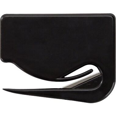 Staples Letter Opener, 2/Pack, Black (18006)
