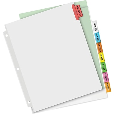 Avery® Extra-Wide Big Tab Insertable Dividers, 9