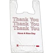 "BARNES PAPER CO. High Density Shopping Bags, 30"" x 18"", 500/Carton"